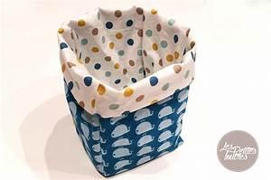 Panier Rangement Bébé Tissu : tuto corbeille en tissu ~ Dailycaller-alerts.com Idées de Décoration