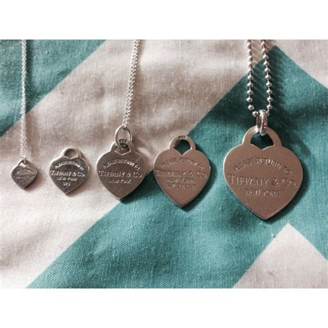 Authentic Tiffany Co Heart Sizes For Comparison