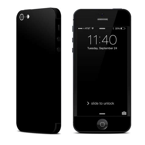 iphone 5 black apple iphone 5 skin solid state black by solid colors