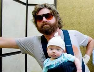 Guy From Hangover with Baby