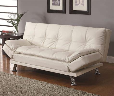 sofa beds contemporary styled futon sleeper sofa