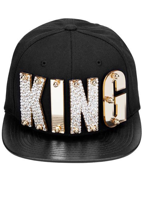 rich kids king cap black ist