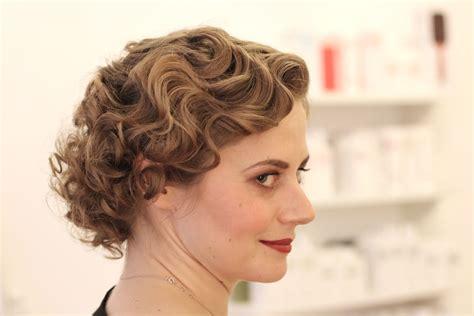 frisur der er jahre wasserwelle vintage hairstyling