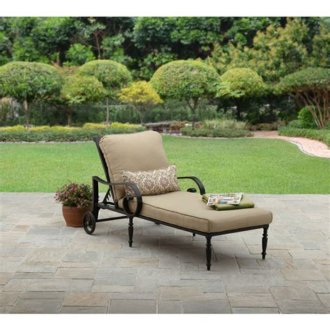 park gate cast aluminum outdoor chaise lounge created for