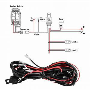 Light Bar Wiring Diagram No Relay