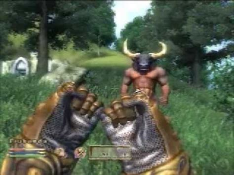 fist fighting  minotaur  high  skooma youtube