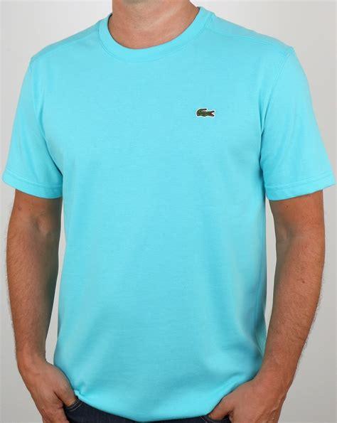 Lacoste T-shirt Haiti Blue,crew neck, Men's, Cotton, Tee