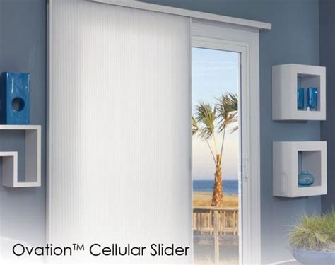 energy efficient shades for your sliding glass door for