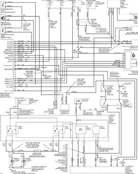 Ford Taurus Wiring Diagrams Diagram User Manual