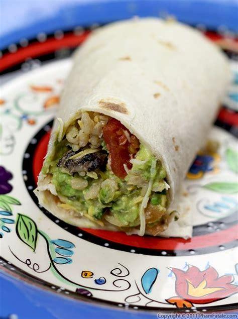 vegetarian burrito vegetarian burrito recipe pham fatale