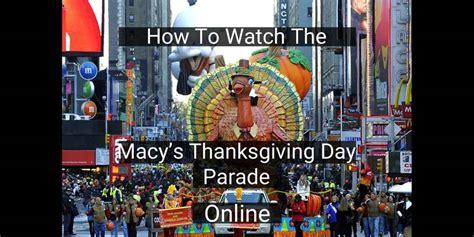 macys thanksgiving day parade cut  cord