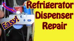 Leaking Water Dispenser Refrigerator Repair