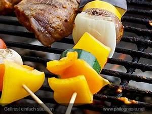 Grill Sauber Machen : grill putzen 5 tipps einen grillrost leicht zu s ubern philognosie ~ Watch28wear.com Haus und Dekorationen