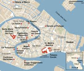 Venice Italy Tourist Map