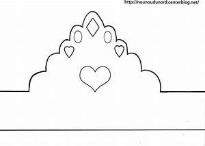 Couronne En Papier à Imprimer : couronne princesse imprimer ~ Melissatoandfro.com Idées de Décoration