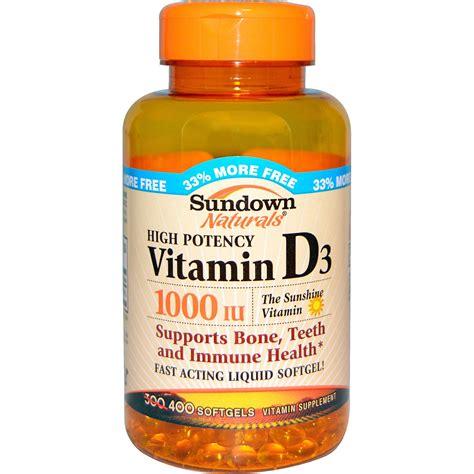 vitamin d l reviews rexall sundown naturals high potency vitamin d3 1000 iu