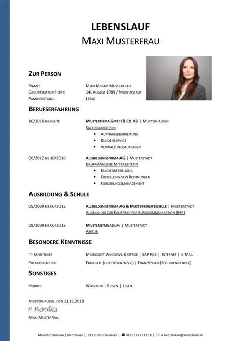 Lebenslauf Erzieherin by 20 Lebenslauf Erzieherin Mit Berufserfahrung Soleatablao