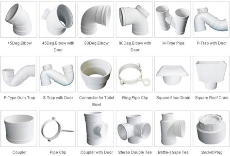 pvc trap types pvc u sewage pipes fittings manufacturer supplier china
