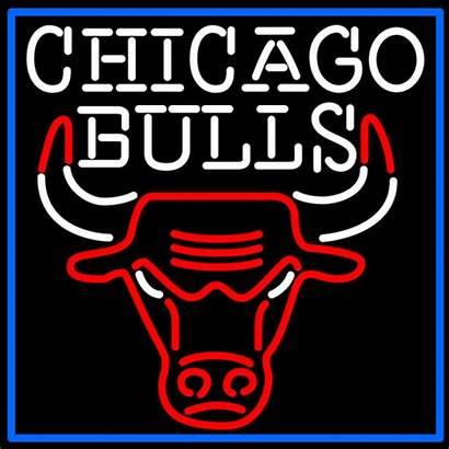 Neon Sign Chicago Bulls Gifs Gfycat Signs