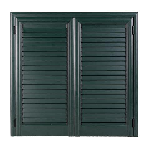 le persiane persiana in alluminio verde marezzato 2 ante 140x120 cm