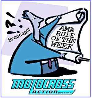 ama motocross rules motocross action magazine ama motocross rule of the week