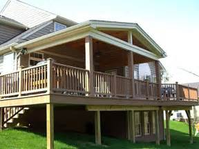 Covered Deck Plans Ideas by Best 25 Covered Deck Designs Ideas On Deck