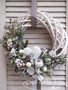 Die Schönsten Bastelideen : hast du vor diese woche einen weihnachtskranz zu machen schau dir hier die sch nsten ~ Markanthonyermac.com Haus und Dekorationen