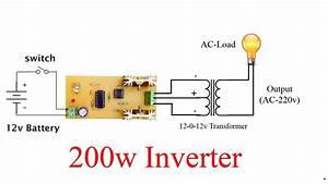 200watt Inverter At Home