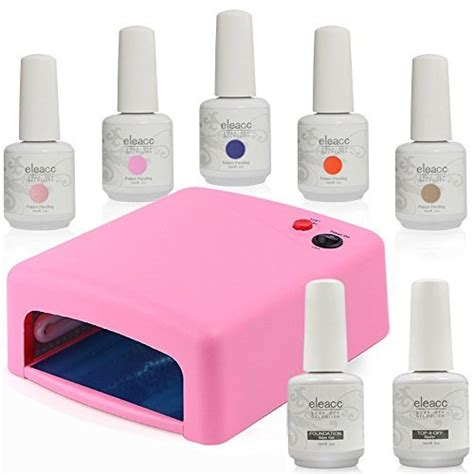 best gel nail polish without uv light gel nail kit without uv light amazon com