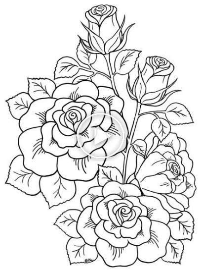 Coloriage images de fleurs kaertun in 2020 | Tattoo