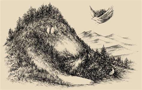 misc drawings ink  paper scott lenhardt