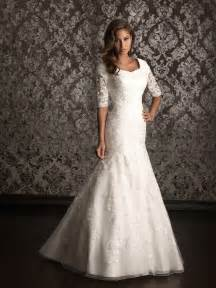wedding dress sleeves lace lace wedding dress with 3 per 4 sleeves ipunya