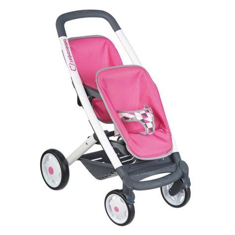 siege auto pour poupon poussette jumeaux bébé confort jeux et jouets smoby