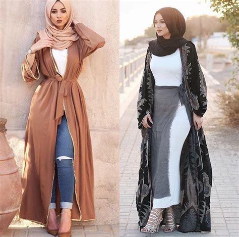 muslim style classy fashions  fall winter hijab