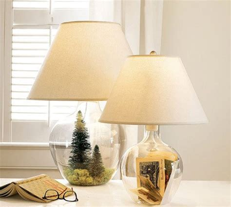 fillable glass lamp ideas id lights
