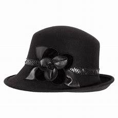 Toucan Collection Petal Profile Wool Cloche Hat Cloche