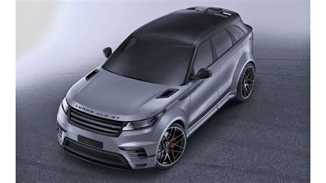 Modifikasi Land Rover Range Rover Velar by Lumma Design Bikin Kit Modifikasi Range Rover Velar