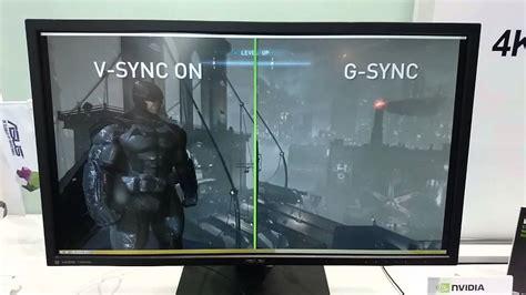 nvidia  sync powers    capable asus monitor youtube