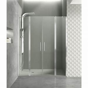 paroi de douche portes battantes helia g robinet and co With portes douche battantes
