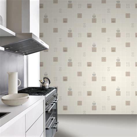 tile wallpaper for kitchen rasch tile pattern caf 233 coffee cake restaurant kitchen 6193