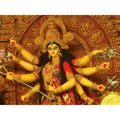 Durga warrior goddess of power and an aspect Shiva's