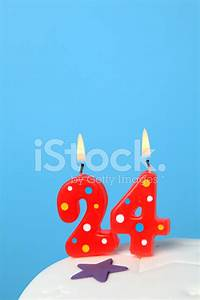 24th Birthday Candles Stock Photos - FreeImages com