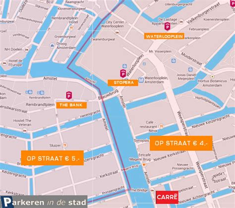 carre amsterdam plattegrond parkeren theater carre amsterdam