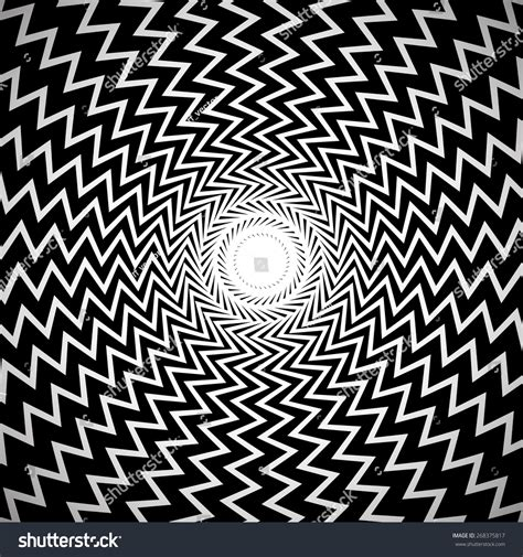 Abstract Black Shapes by Black And White Abstract Background Image With Radial