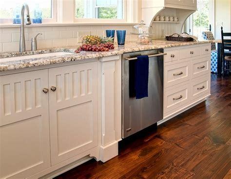Polar Cream Granite Countertops   Hidden Towel Rack