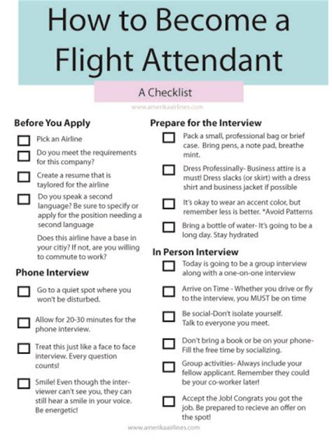 Delta Airlines Flight Attendant Resume by Print Out This Free Check List Flight Attendant On How To
