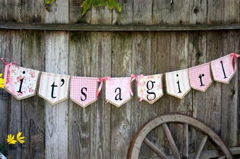 custom   girl bunting banner flagnew baby shower