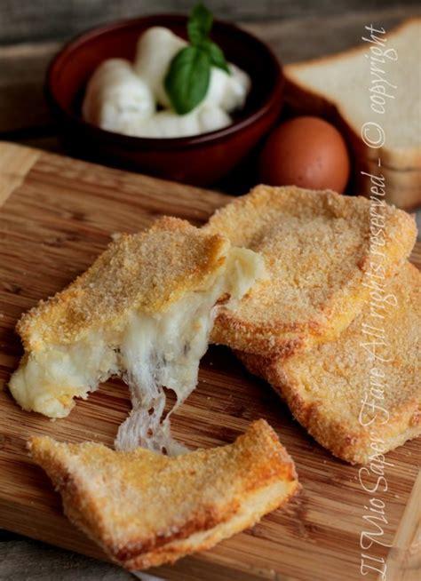 mozzarella in carrozza ricetta originale mozzarella in carrozza al forno ricetta il mio saper fare