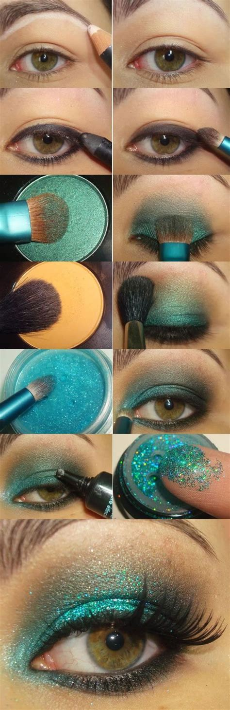 step  step glitter eye makeup tutorial pictures   images  facebook tumblr