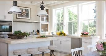 Country Kitchen Style For Modern House This White Kitchen Was Designed For Style Comfort Custom Sewn Seat